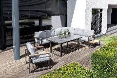 Kettler Ocean Lounge Skid modular Gartenmöbel