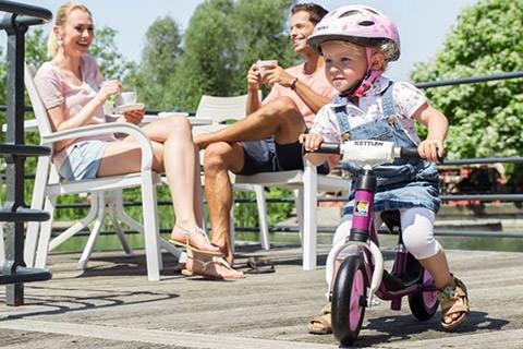 Kettler Lauf-und Dreiräder