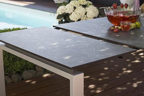kettler gartentische rund und rechteckig bei peter s e. Black Bedroom Furniture Sets. Home Design Ideas