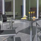 Avanti Tisch Edelstahl/Glas 145x85x72 cm #1
