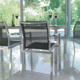 Avanti Tisch Edelstahl/Glas 145x85x72 cm #2