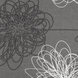 Kettler Auflagen Dessin 519, anthrazit-floral, KTH 2 #1