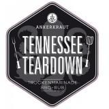 Ankerkraut Tennessee Teardown BBQ Rub 220g im Streuer #1