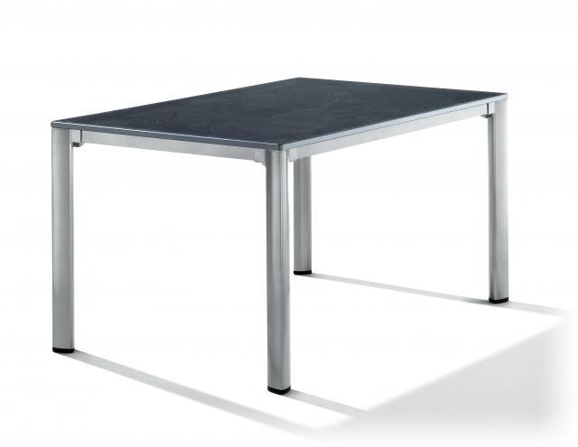 Sieger Exclusiv Puroplan Tisch 140x90 cm graphit #1