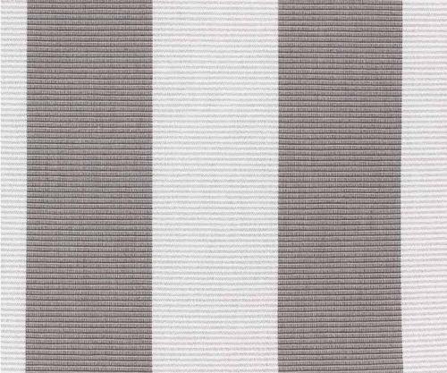 Kettler Auflagen Dessin 744, Streifen grau-silbergrau #1