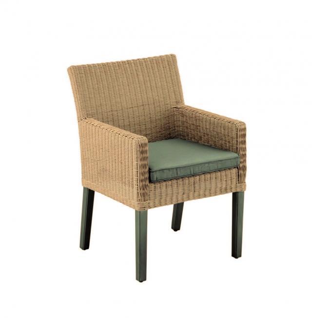 Kettler Bretagne Dining-Sessel inkl.Sitzkissen #1