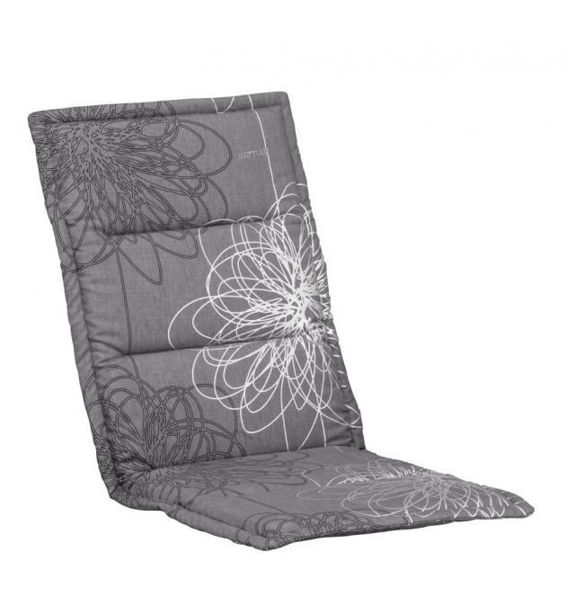 Kettler Auflage ML 109x50x3 cm, anthrazit floral #1