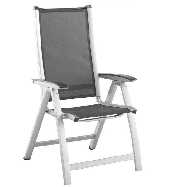 Forma Multipositions-Sessel silber/anthrazit - Peter Süße