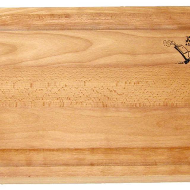Joe's Seitentisch mit massiver Holzplatte #1