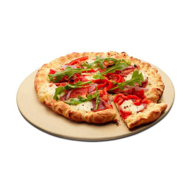 profi pizzastein cm rund fuer  serie und  cm grills
