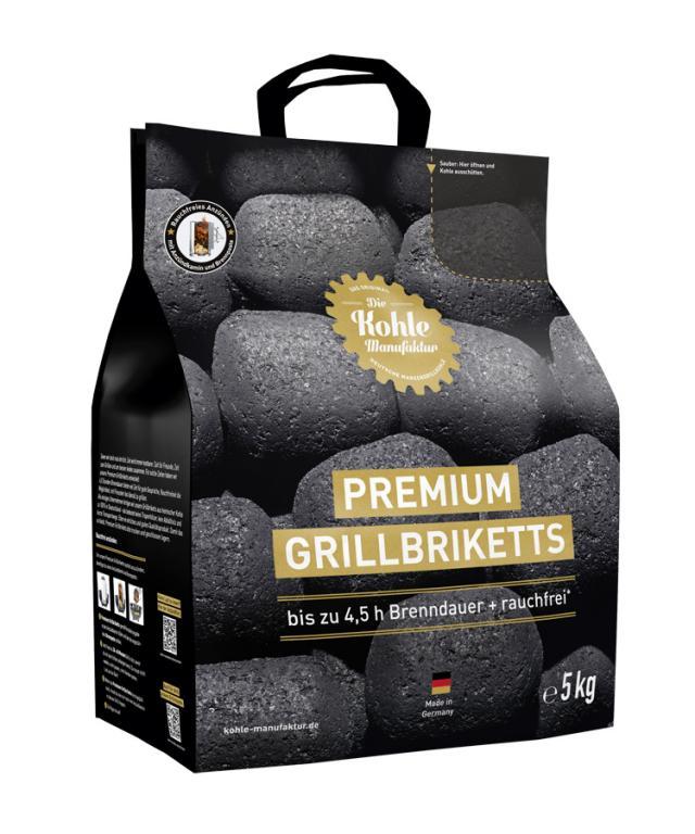 Premium Grillbrikett 5 Kg #1