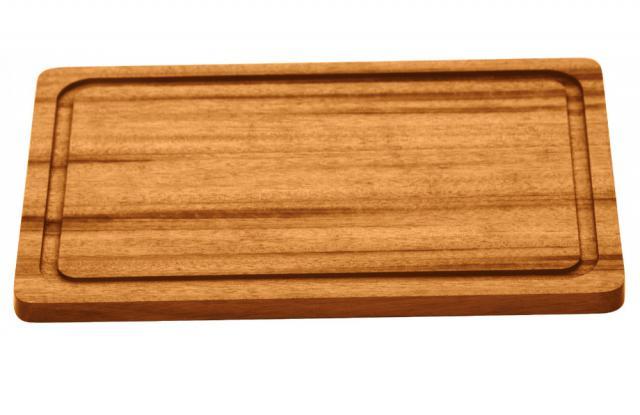Churrasco Steakplatte rechteckig 300x210x12 mm #1