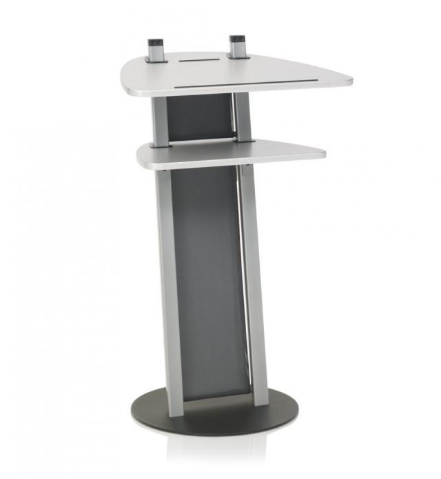 Kettler Stehpult Design-Stehpult - silber / silber #1