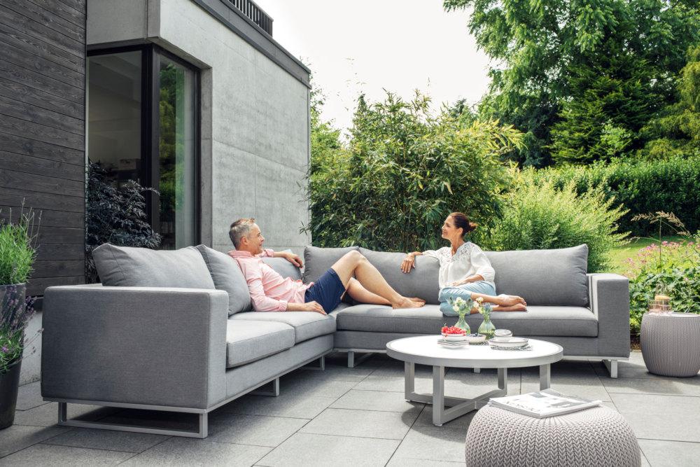 Kettler ego indoor outdoor lounge gruppe modular oder im for Outdoor gartenmobel