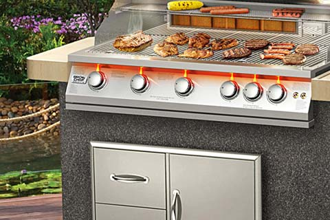 Billig Lille Gasgrill : Broil chef superior grills