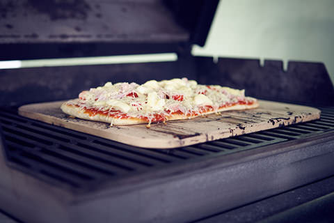 Pizzastein Für Gasgrill Outdoorchef : Pizzasteine