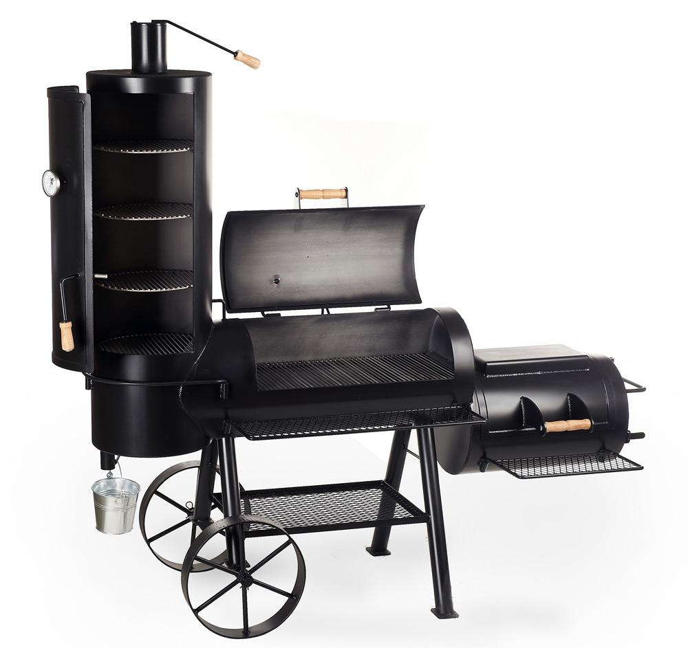 joe 39 s bbq smoker 16 chuckwagon orginal peter s e. Black Bedroom Furniture Sets. Home Design Ideas