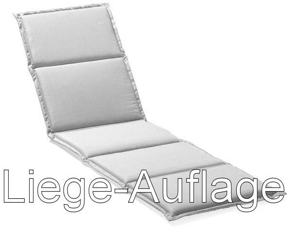 auflage liege 190x61x4cm anthrazit peter s e. Black Bedroom Furniture Sets. Home Design Ideas