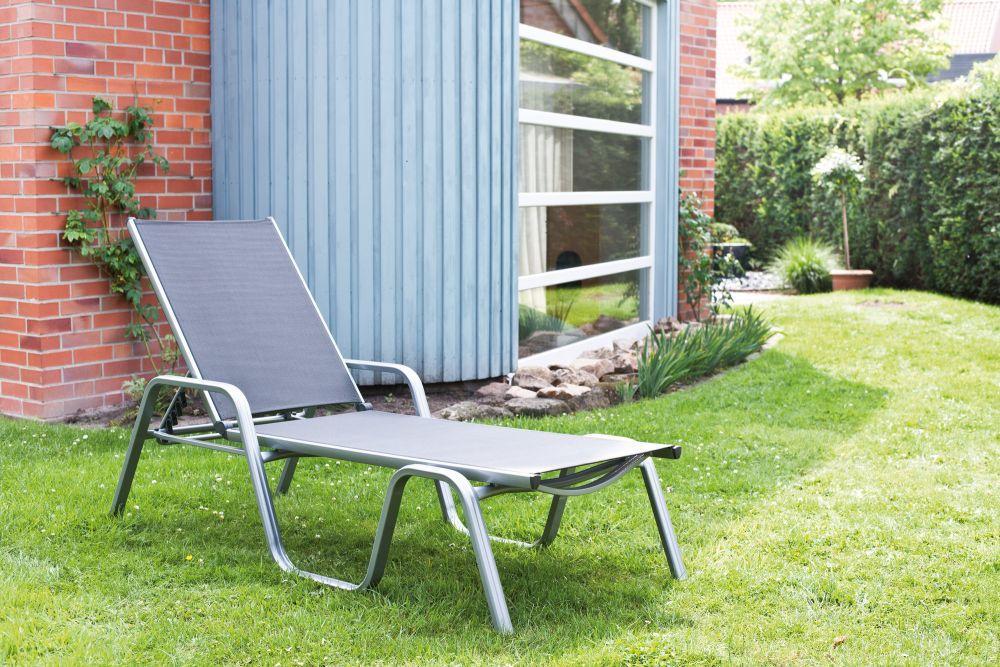 kettler basic plus stapelliege silber anthrazit peter s e. Black Bedroom Furniture Sets. Home Design Ideas