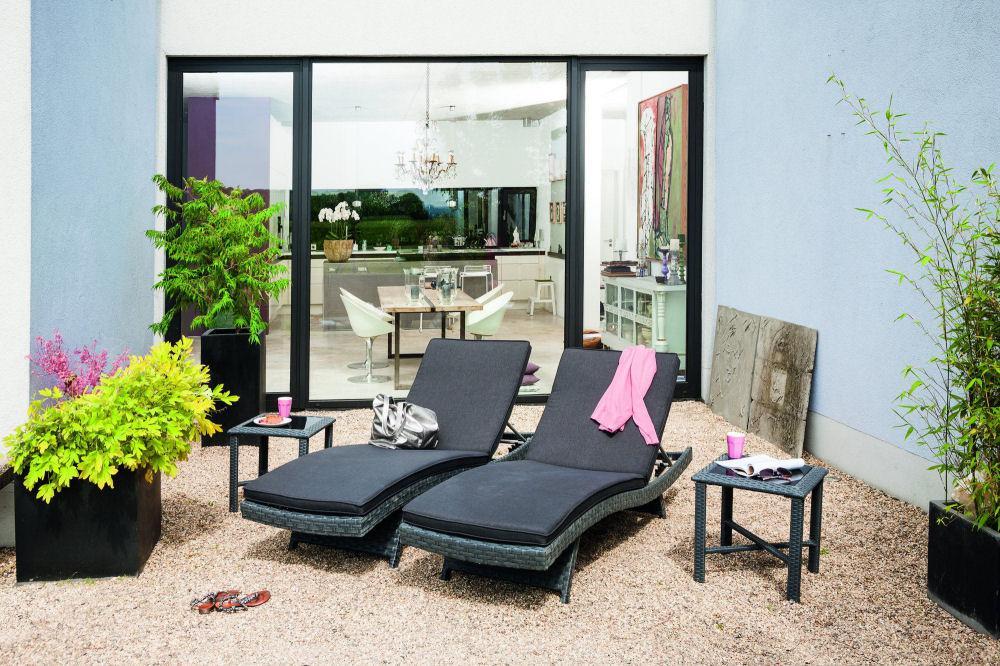 kettler bistro beistelltisch anthrazit peter s e. Black Bedroom Furniture Sets. Home Design Ideas