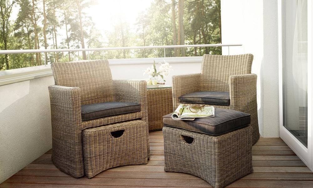cupido set rattan mocca anthrazit 2 wahl peter s e. Black Bedroom Furniture Sets. Home Design Ideas