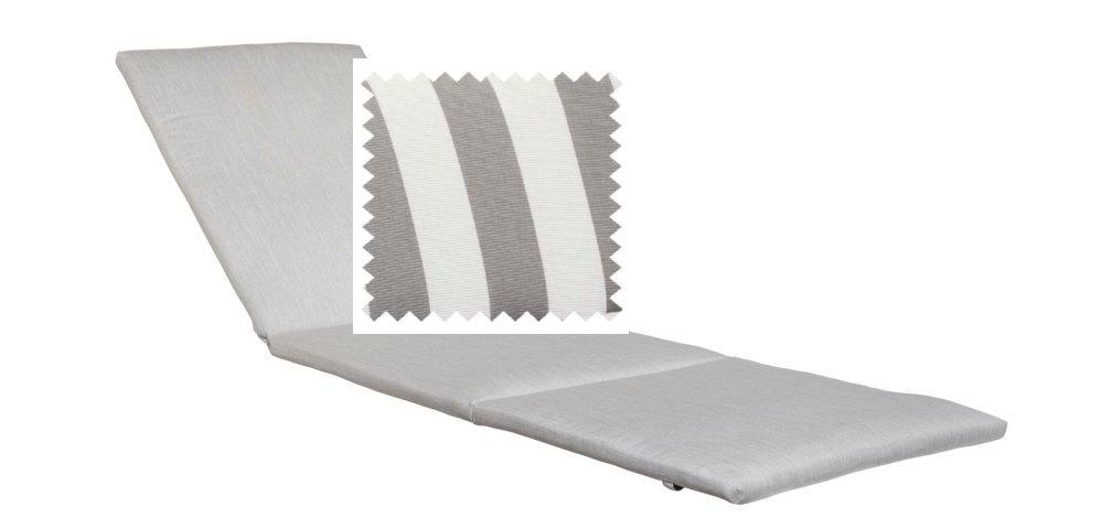 Kettler Anfertigung 744 in KTH2, Streifen grau silbergrau - Peter Süße