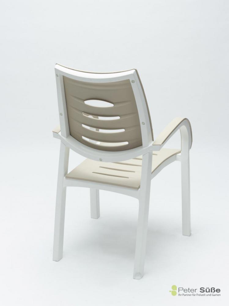 kettler happy stapelsessel weiss peter s e. Black Bedroom Furniture Sets. Home Design Ideas