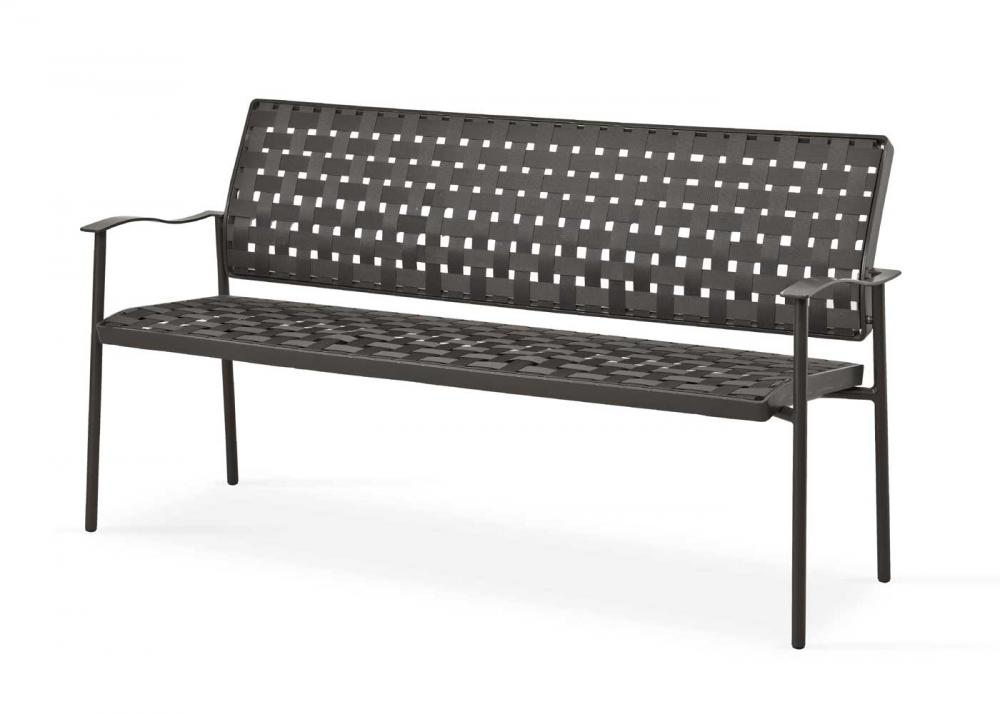 fischer nizza bank 120 cm anthrazit peter s e. Black Bedroom Furniture Sets. Home Design Ideas