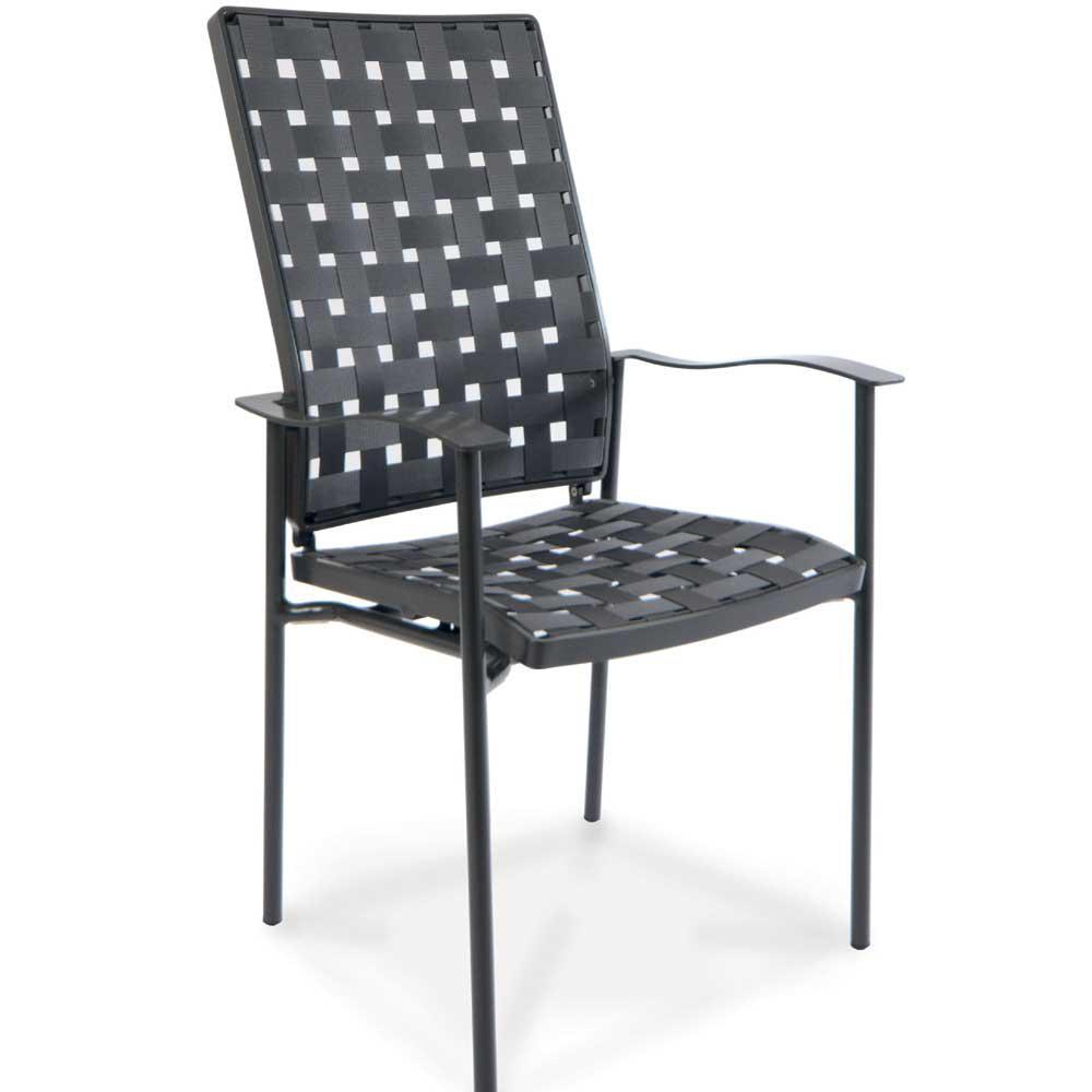 fischer nizza hochlehner sessel anthrazit peter s e. Black Bedroom Furniture Sets. Home Design Ideas