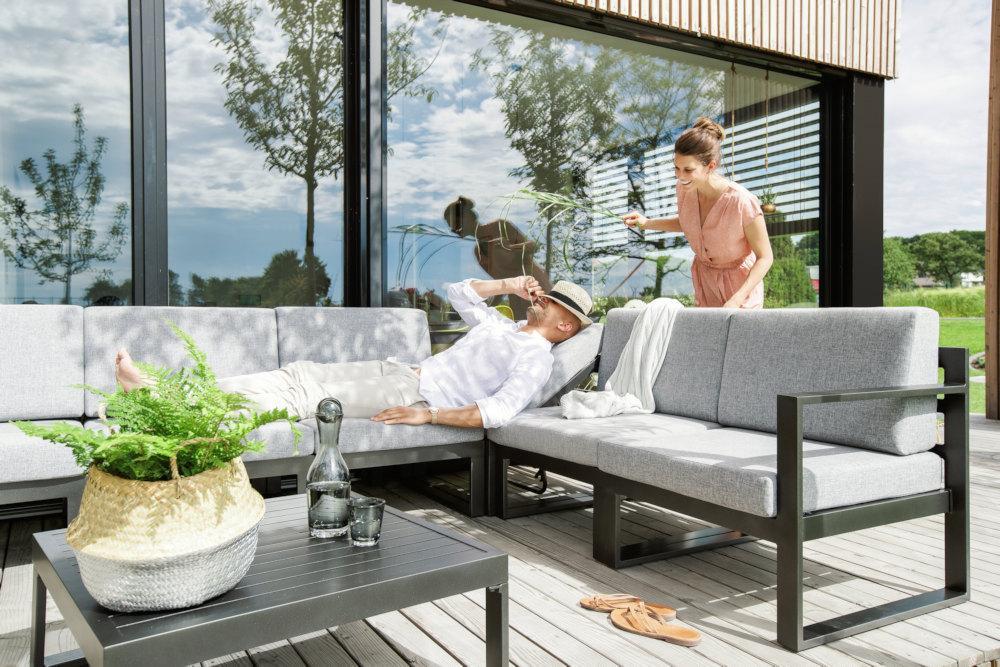 Kettler Ocean Modular Dining Lounge Inkl Kissen