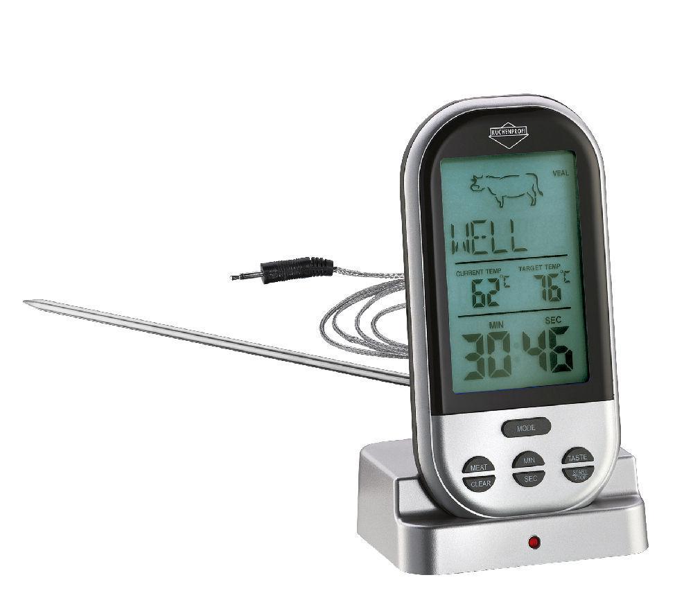digitales grill thermometer profi peter s e. Black Bedroom Furniture Sets. Home Design Ideas