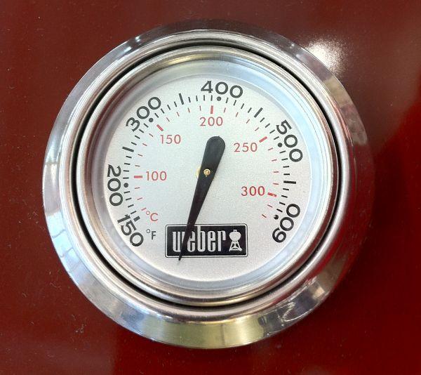 weber rosette zu thermometer 74239 holzkohle peter s e. Black Bedroom Furniture Sets. Home Design Ideas