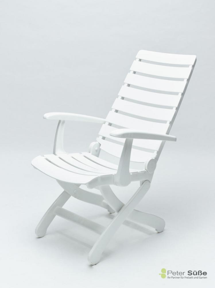 Kettler Tiffany Multipositions-Sessel weiß - Peter Süße