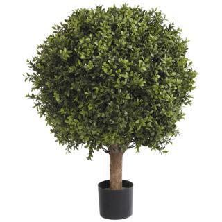 Fiebiger Buchsbaumkugel im Topf 64 cm grün