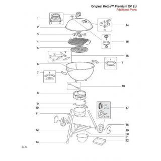 Weber Beinset One-Touch Original/Premium 47 2015