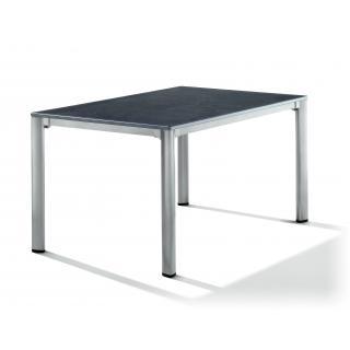 Exclusiv Puroplan Tisch 140x90 cm graphit