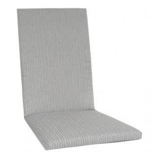 KETTtex® Exklusiv Auflagen Dessin 2207 grau mit feinen Streifen KTH2