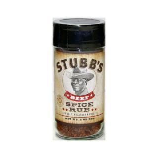 Stubbs BBQ Beef Spice Rub 56g