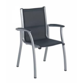 Avantgarde Dining Chair, silber/anthrazit