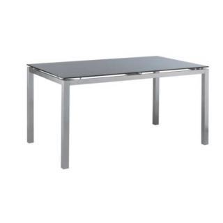 Kettler Avanti Tisch Edelstahl/Glas 145x85x72 cm