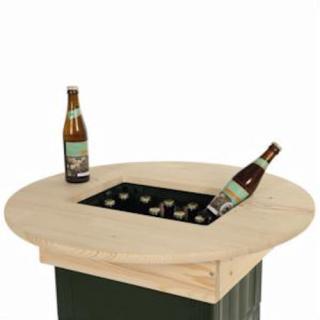 Queens Bierkasten Tischaufsatz