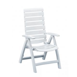 Kettler Rimini Multipositions-Sessel weiß