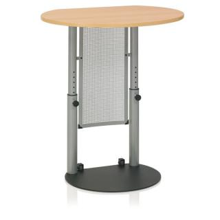 Kettler Stehpult High Point 10 - silber / Buche