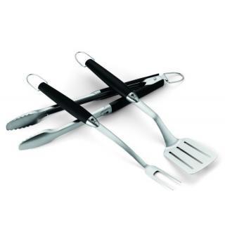 Weber Grillbesteck, 3-teilig Premium