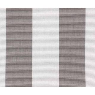 Kettler Auflagen Dessin 744, Streifen grau-silbergrau RS grau-silber, KTH 3
