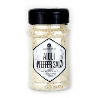 Ankerkraut Aioli Pfeffer Salz 310g im Streuer