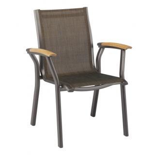 Kettler Avance Dining-Sessel anthrazit/bronze leider ausverkauft