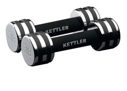 Kettler Chrom-Hanteln, Paar
