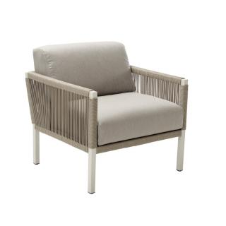 Club Lounge Sessel dove-taupe String Flex