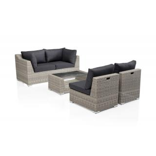 Kettler Costa Lounge-Set white-wash